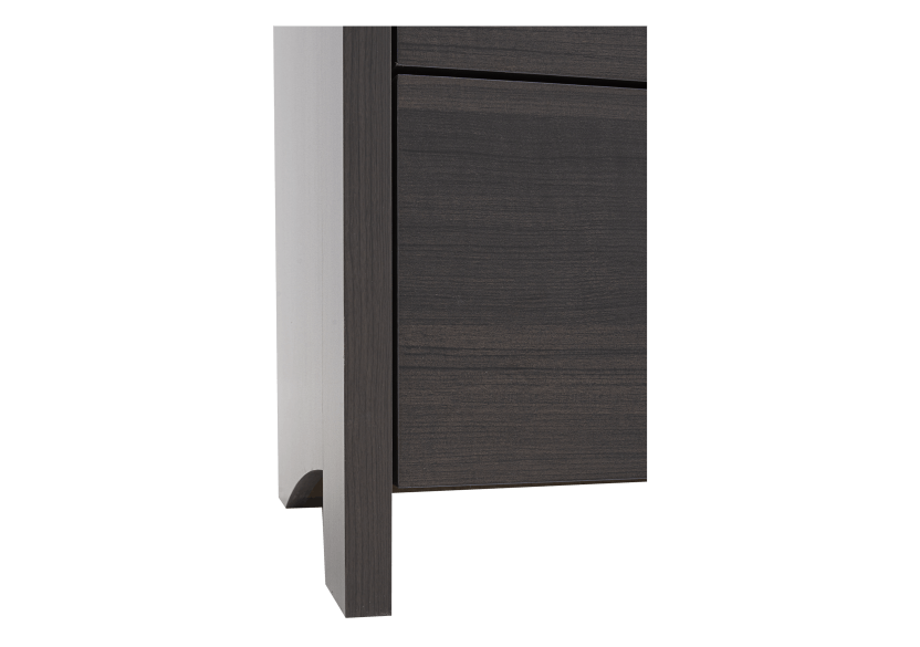 Dark Grey 6-Drawer Dresser product photo other05 L