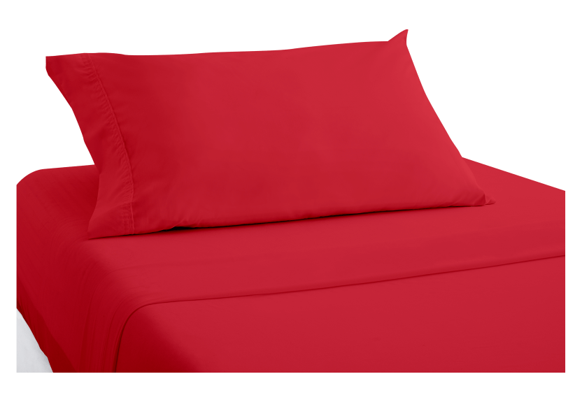 Red Sheet Set - Twin size product photo
