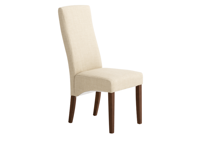 Brown and Beige Upholstered Chair product photo other01 L