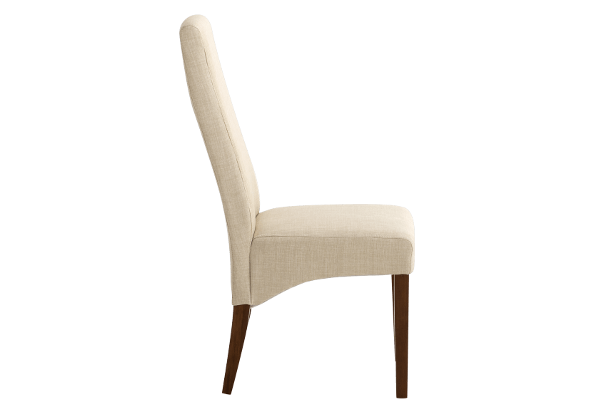 Brown and Beige Upholstered Chair product photo other02 L