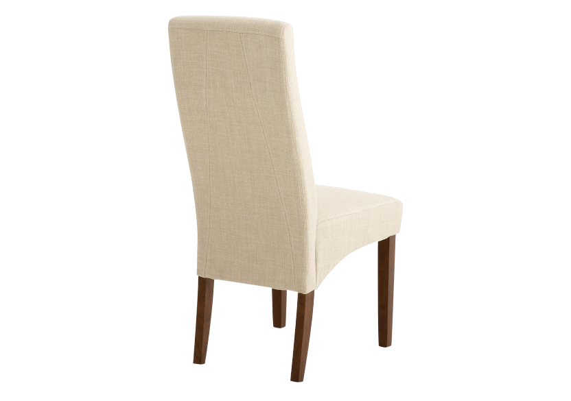 Brown and Beige Upholstered Chair product photo other03 L