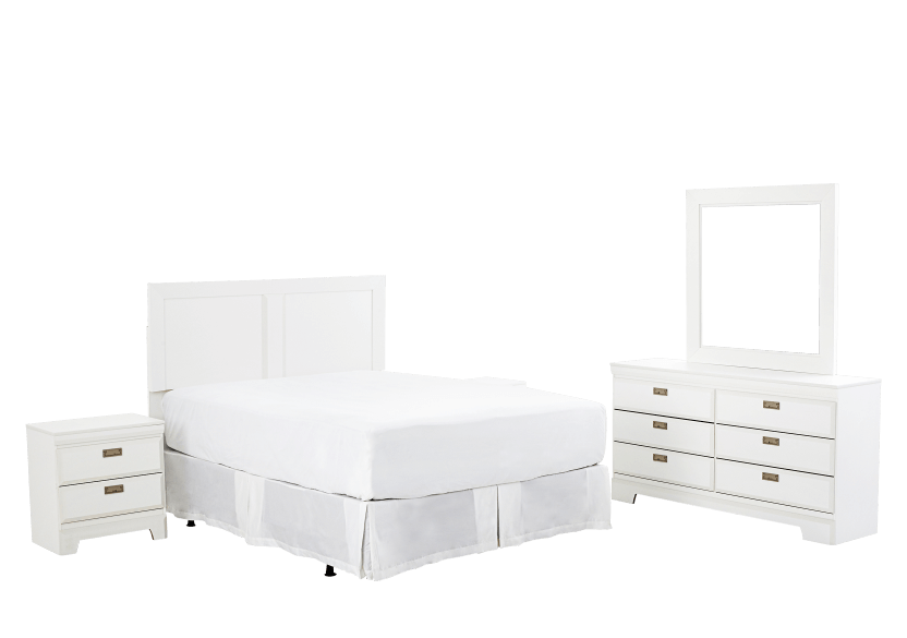 Bedroom Set -  Queen product photo Front View L