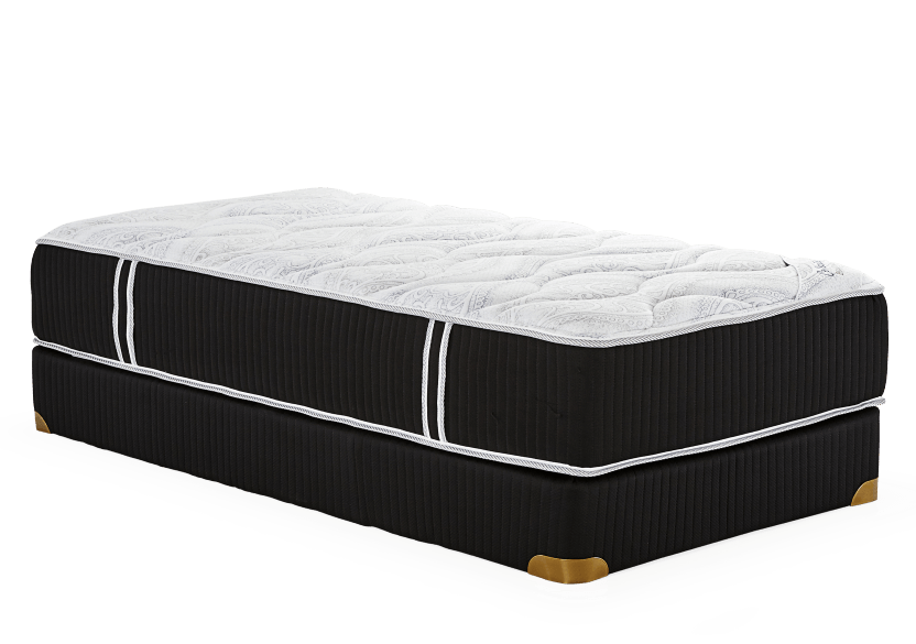 "Collection BM Hermitage - 8"" Twin Mattress and Box Spring product photo Front View L"