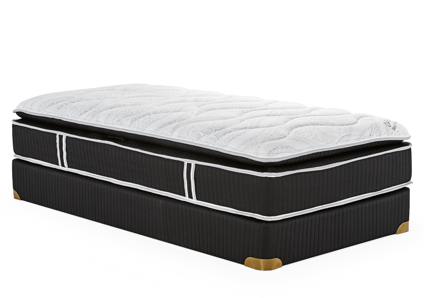 "Collection BM Peninsula - 5"" Twin Mattress and Box Spring product photo Front View L"