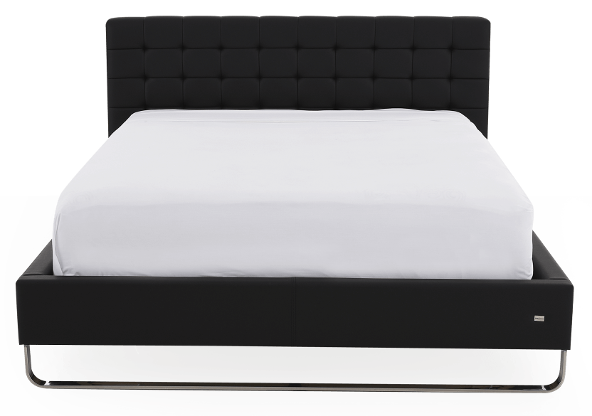 Black Chrome-plated Legs - Queen Bed product photo