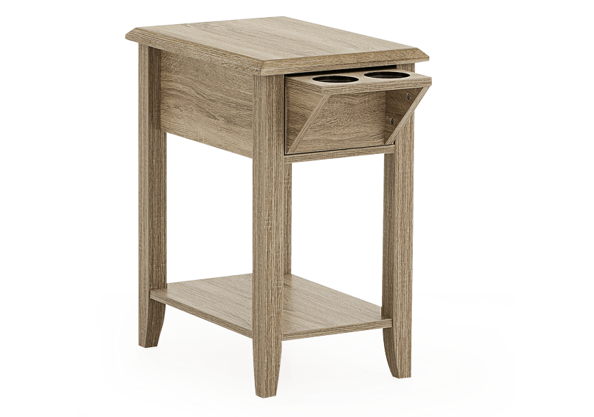 Wood End Table product photo other01 L