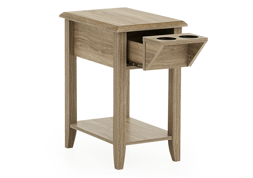 Wood End Table product photo other02 L