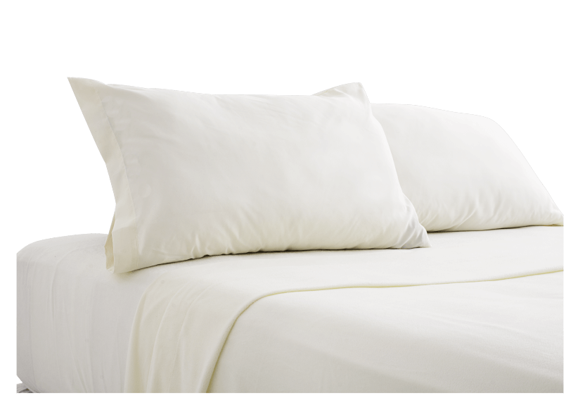 Ivory Sheet Set - Double size product photo Front View L