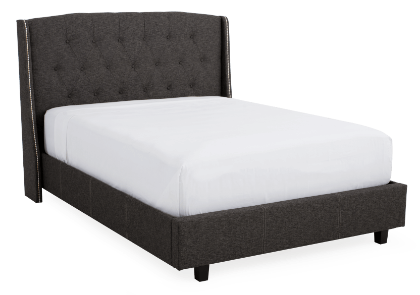 Dark Grey Upholstered - Queen Bed product photo other01 L