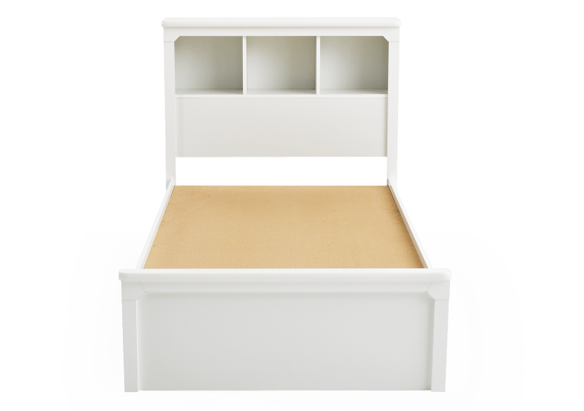 White Twin Kid Storage Bed product photo other06 L