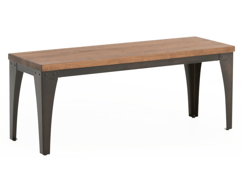 Wood and Metal Bench product photo other01 L