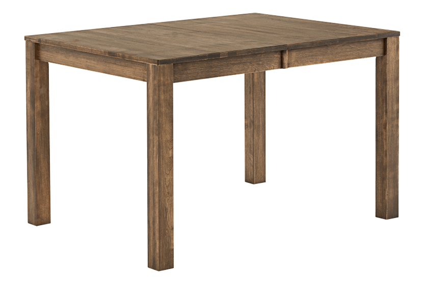 Brown Solid Birch Table with Central Leaf product photo other02 L