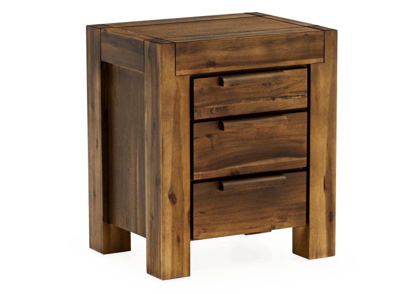 Brown Acacia Nightstand product photo other01 L