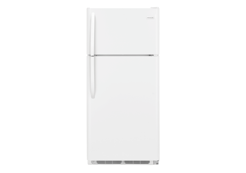 Frigidaire Top Freezer Refrigerator - FFTR1821TW product photo Front View L