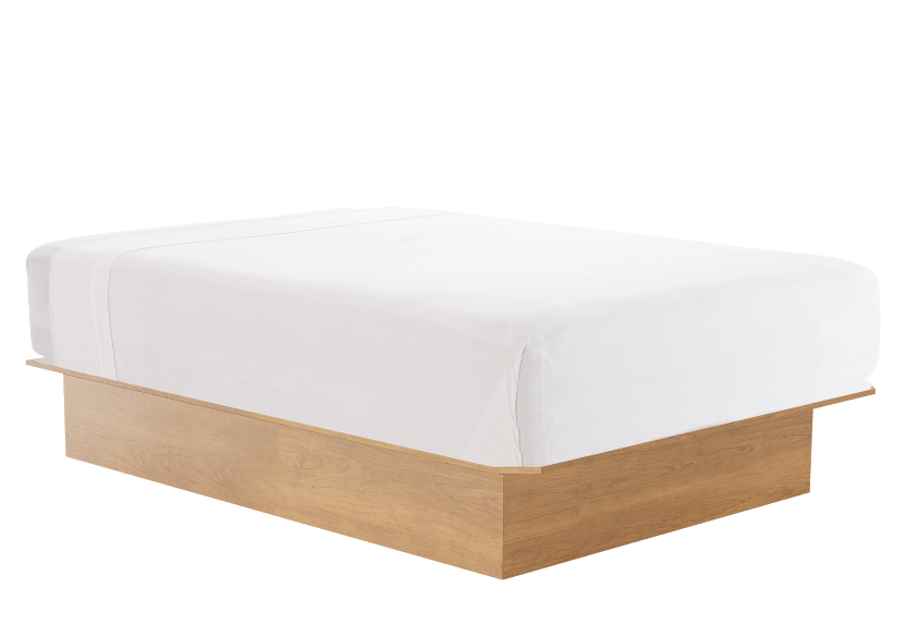 Double Platform Bed product photo