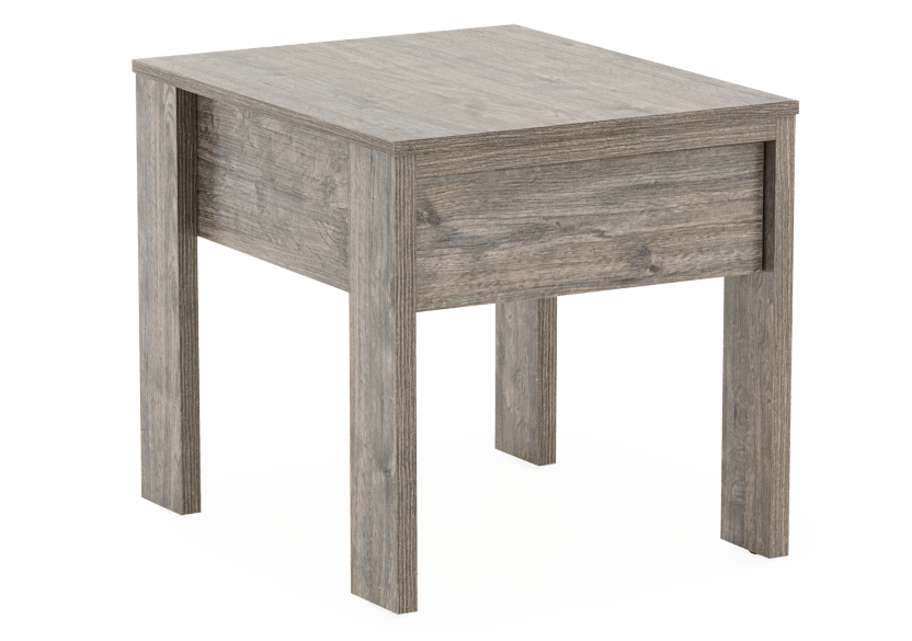 Grey End Table product photo other01 L