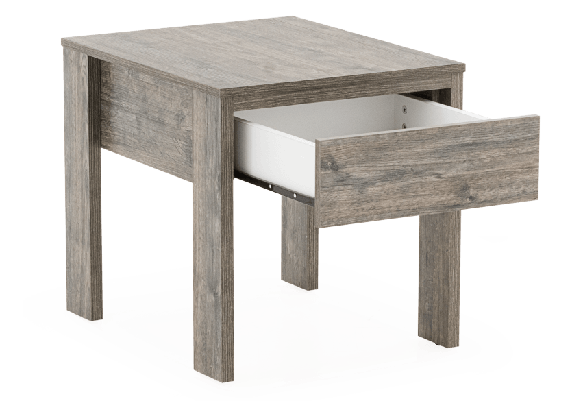 Grey End Table product photo other02 L