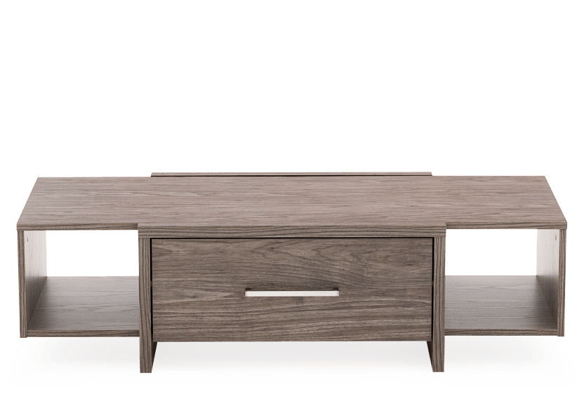 Dark Grey Rectangular Coffee Table product photo