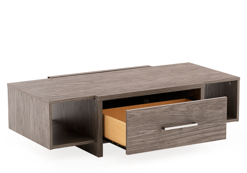 Dark Grey Rectangular Coffee Table product photo other02 L