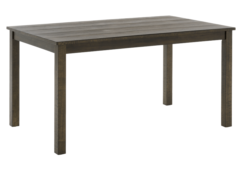 Brown Wood Rectangular Table product photo other01 L