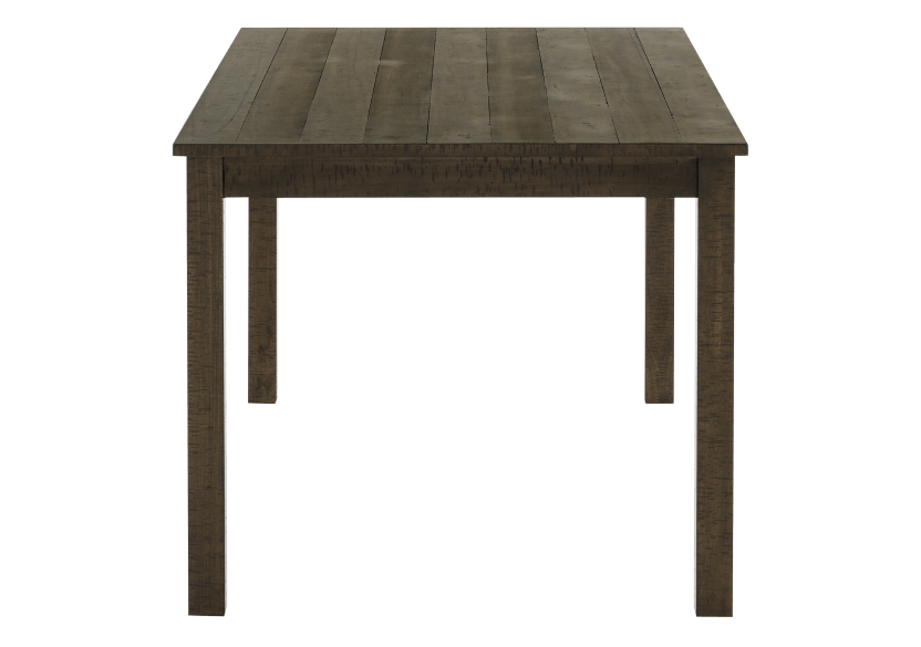 Brown Wood Rectangular Table product photo other02 L
