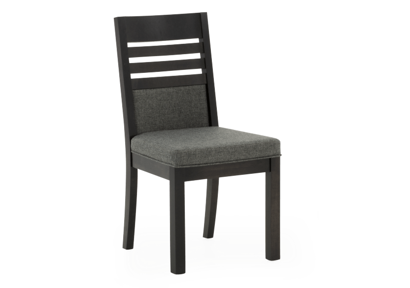 Dark Grey Birch Chair with Upholstered Seat product photo other01 L