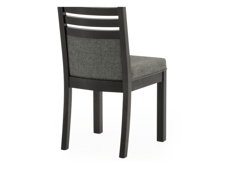 Dark Grey Birch Chair with Upholstered Seat product photo other03 L