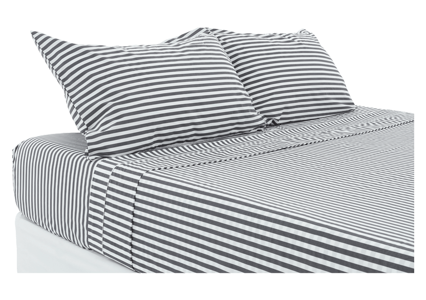 Dark Grey Sheet Set - Queen Size  product photo Front View L