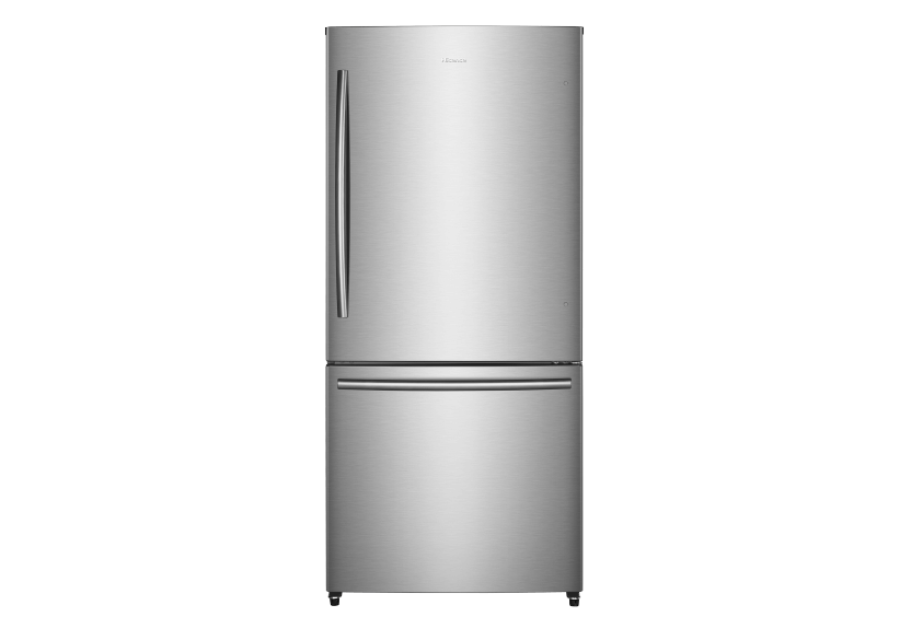 Hisense Bottom Freezer Refrigerator - RB17N6DSE product photo Front View L