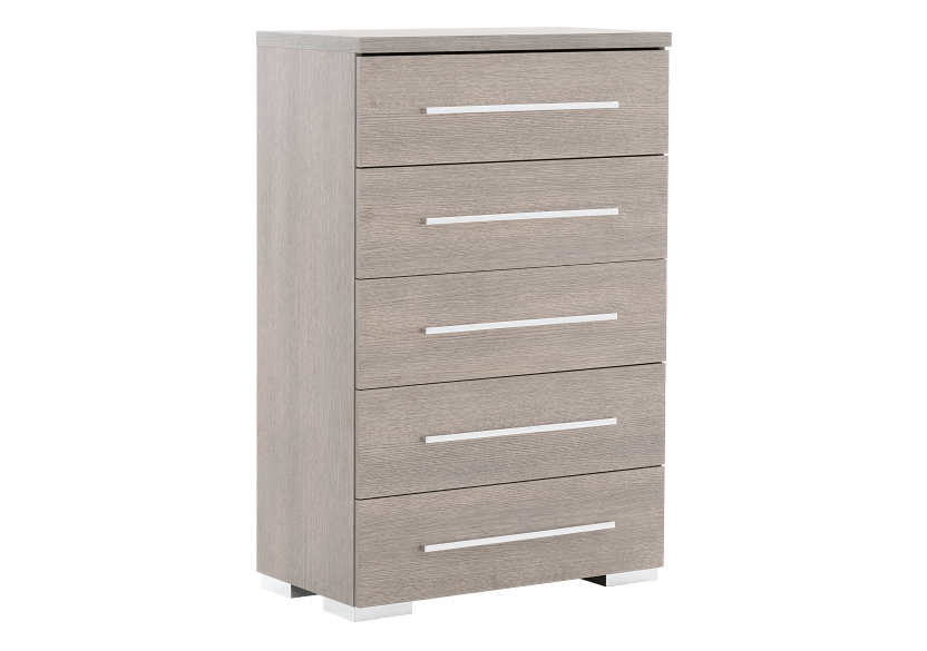 Grey 5-Drawer Chest product photo other01 L