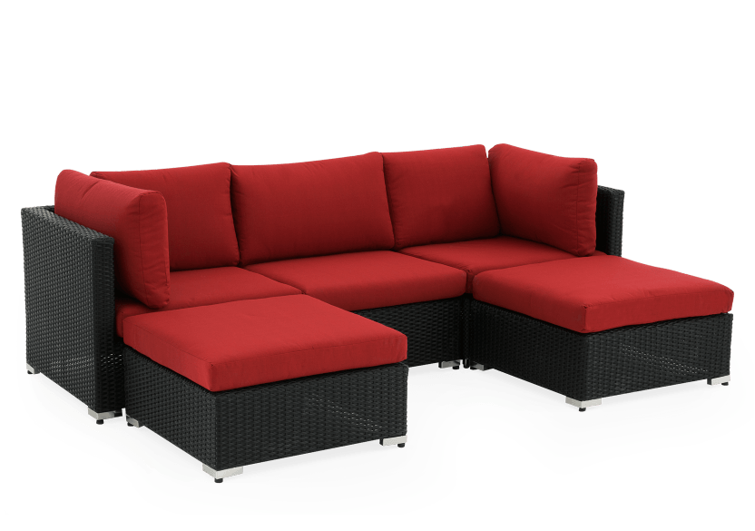Red and Grey Patio Furniture product photo other01 L