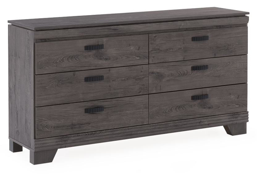 Grey 6-Drawer Dresser product photo other01 L