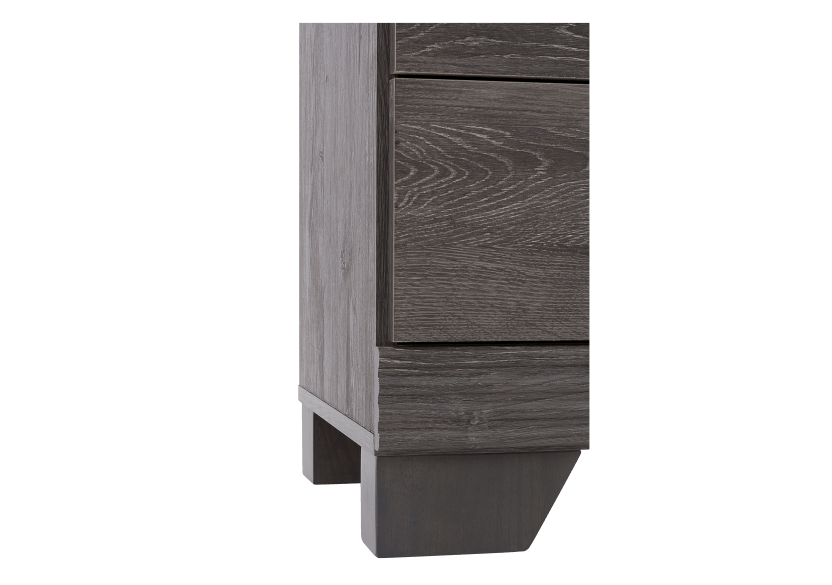 Grey 6-Drawer Dresser product photo other05 L