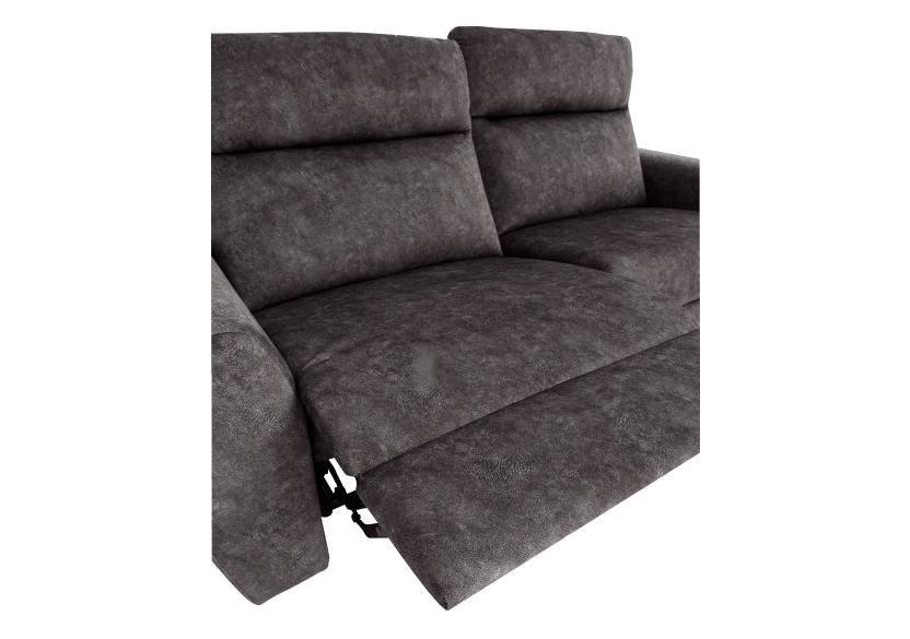 Grey Reclining and Motorized Upholstered Sofa - Elran product photo other06 L