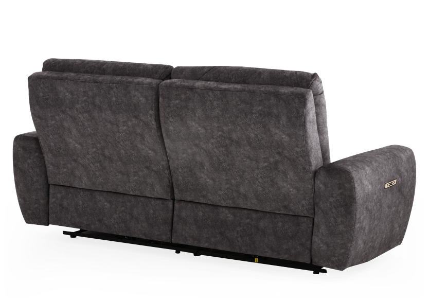 Grey Reclining and Motorized Upholstered Sofa - Elran product photo other08 L