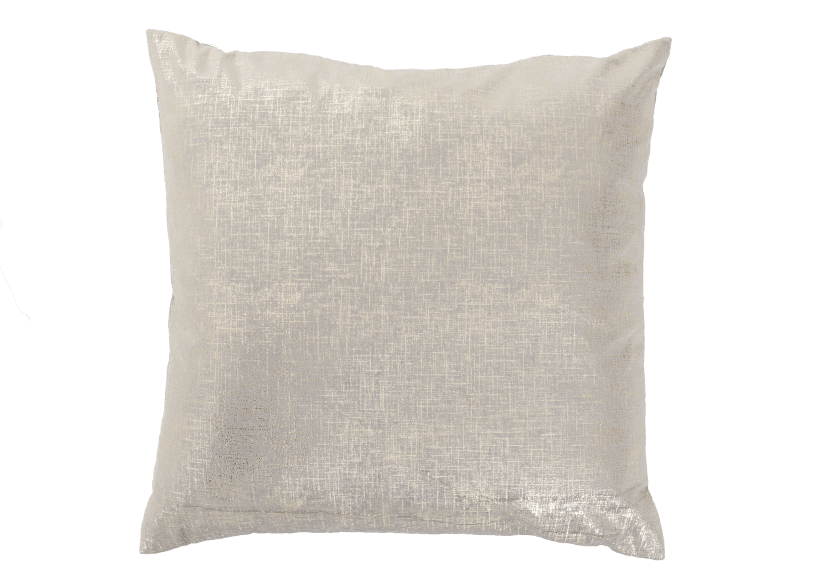 "24x24"" Beige and Gold Yellow Decorative Pillow product photo Front View L"