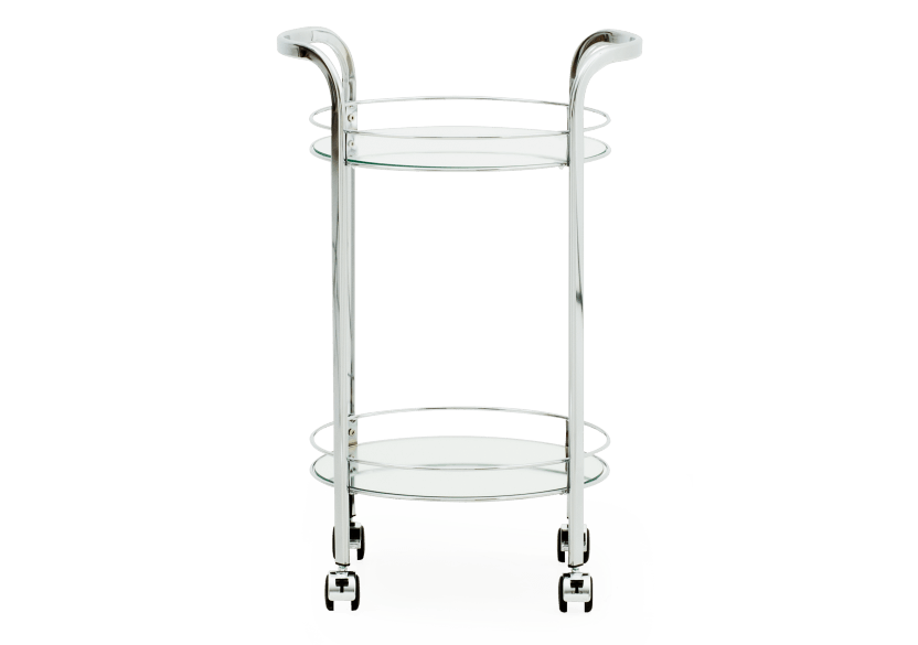 Silver Metal Trolley product photo