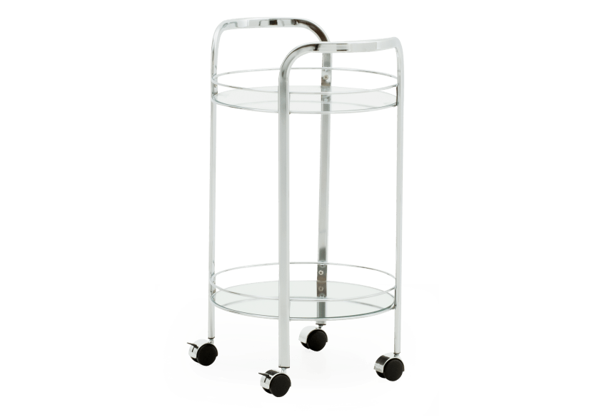 Silver Metal Trolley product photo other01 L