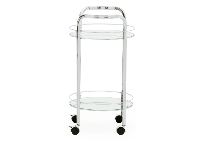 Silver Metal Trolley product photo other02 L