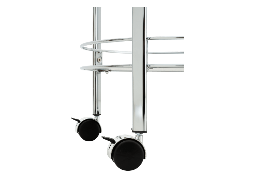 Silver Metal Trolley product photo other04 L