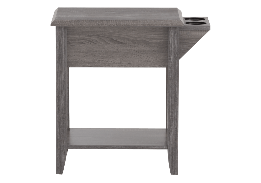 Grey Wood End Table product photo other03 L