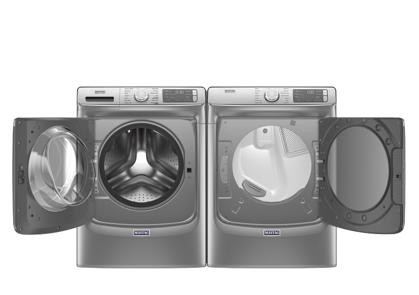 Maytag Front Load Washer and Dryer Set - MHW8630HC YMED8630HC product photo other01 L