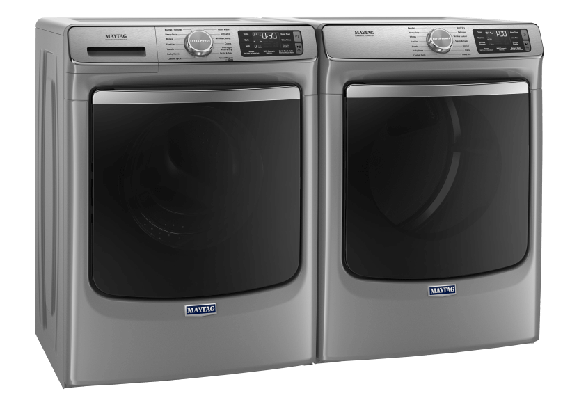 Maytag Front Load Washer and Dryer Set - MHW8630HC YMED8630HC product photo other02 L