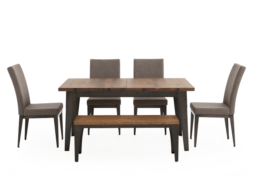 Brown Kitchen Room Furniture with Wood Table product photo
