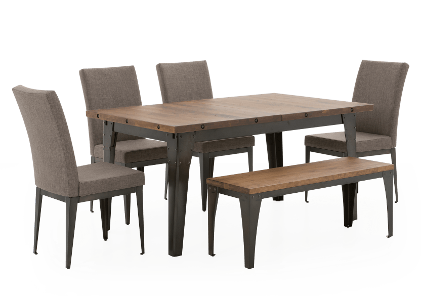 Brown Kitchen Room Furniture with Wood Table product photo other01 L
