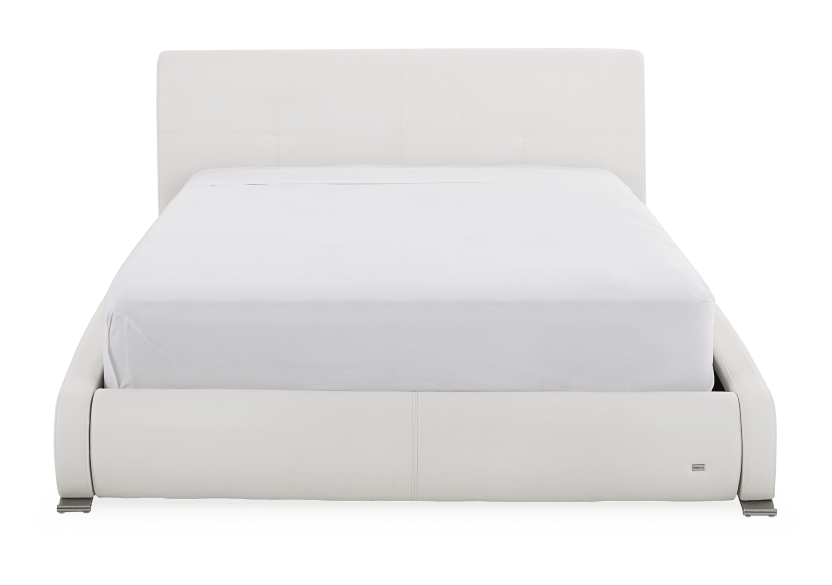 White - King Bed product photo