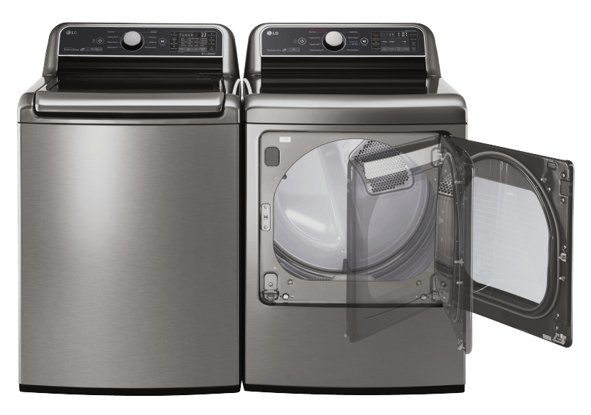 LG Washer and Dryer Set - WT7300CV DLEX7300VE product photo other01 L