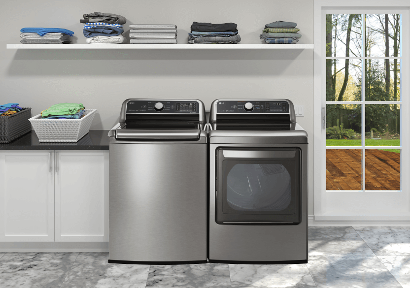 LG Washer and Dryer Set - WT7300CV DLEX7300VE product photo other03 L