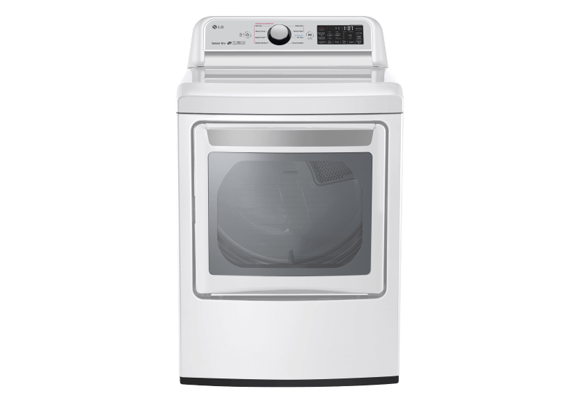 LG Dryer - DLEX7250W product photo