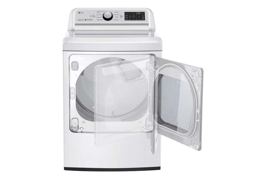 LG Dryer - DLEX7250W product photo other01 L